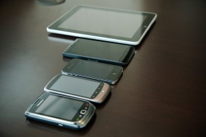 Blackberry Torch 9800, Google Nexus One, iPhone 4, Dell Streak, Apple iPad