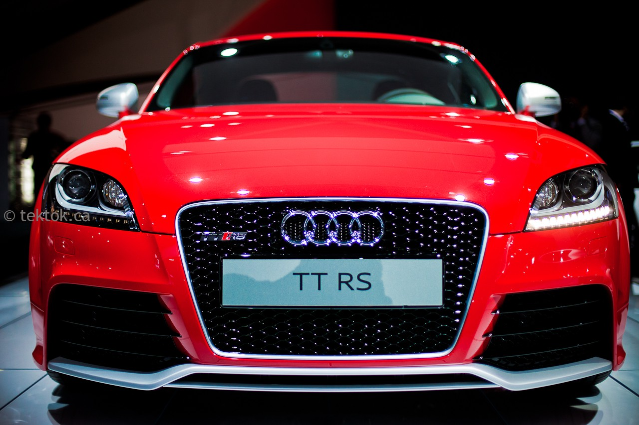 Audi TT RS coming to Canada