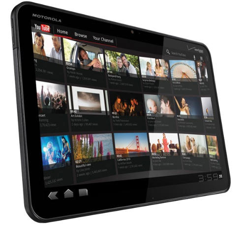 Motorola Xoom to ship with no Flash Support