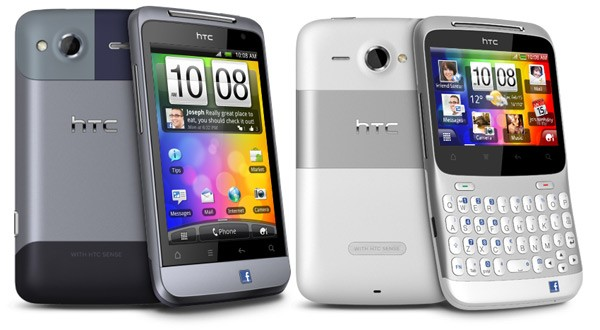 HTC unveils 2 Facebook Enabled Phones: MWC 2011