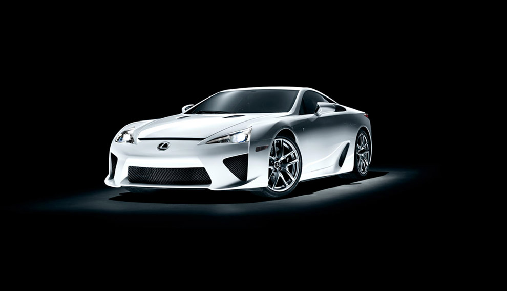 Lexus LFA unveiled [Video]