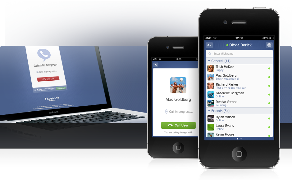 Facebook Messenger released: Free VOIP Calling