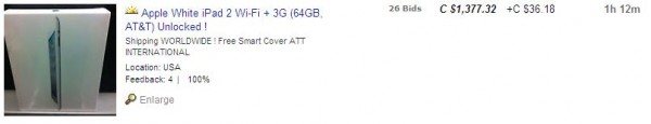Ebay iPad 2
