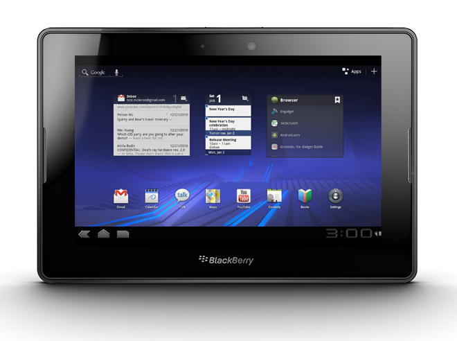 Blackberry Playbook available April 10th