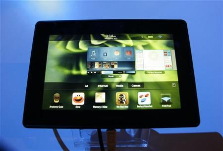 Blackberry Playbook pre-order available today for April 19 starting at $499