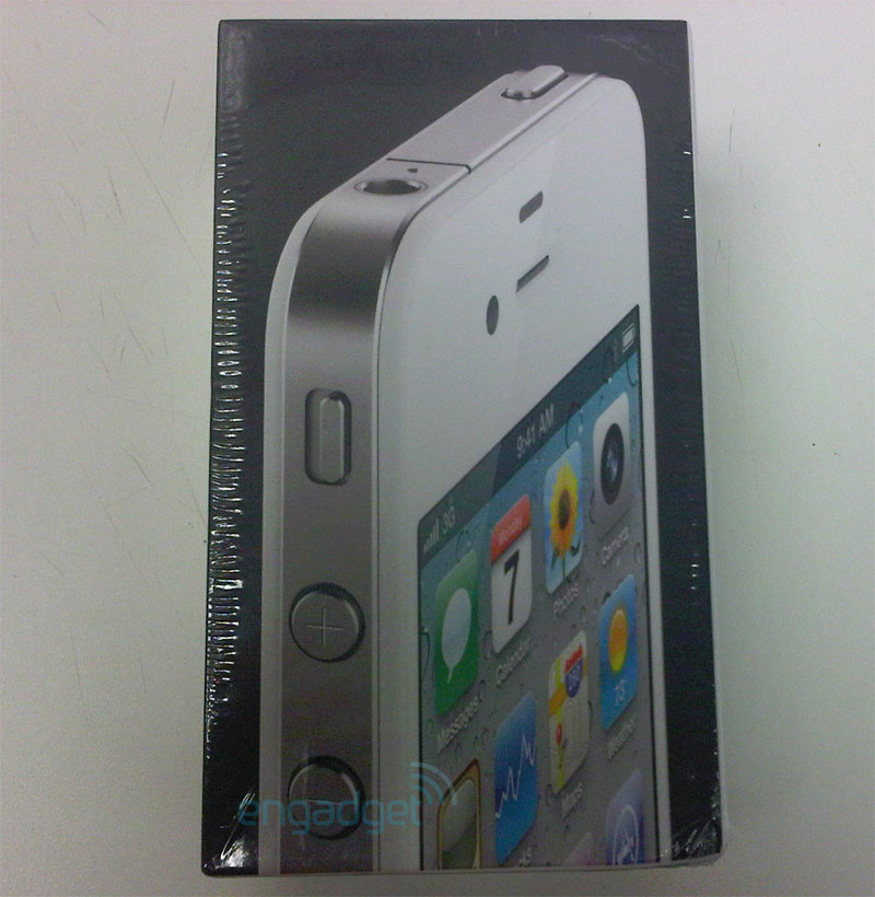 White iPhone 4 to be released April 27th?
