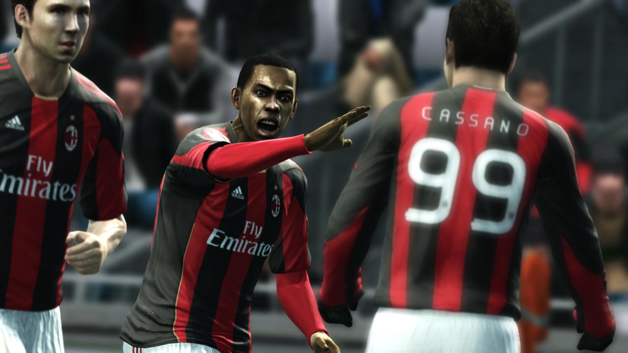 Konami release new screens for PES 2012