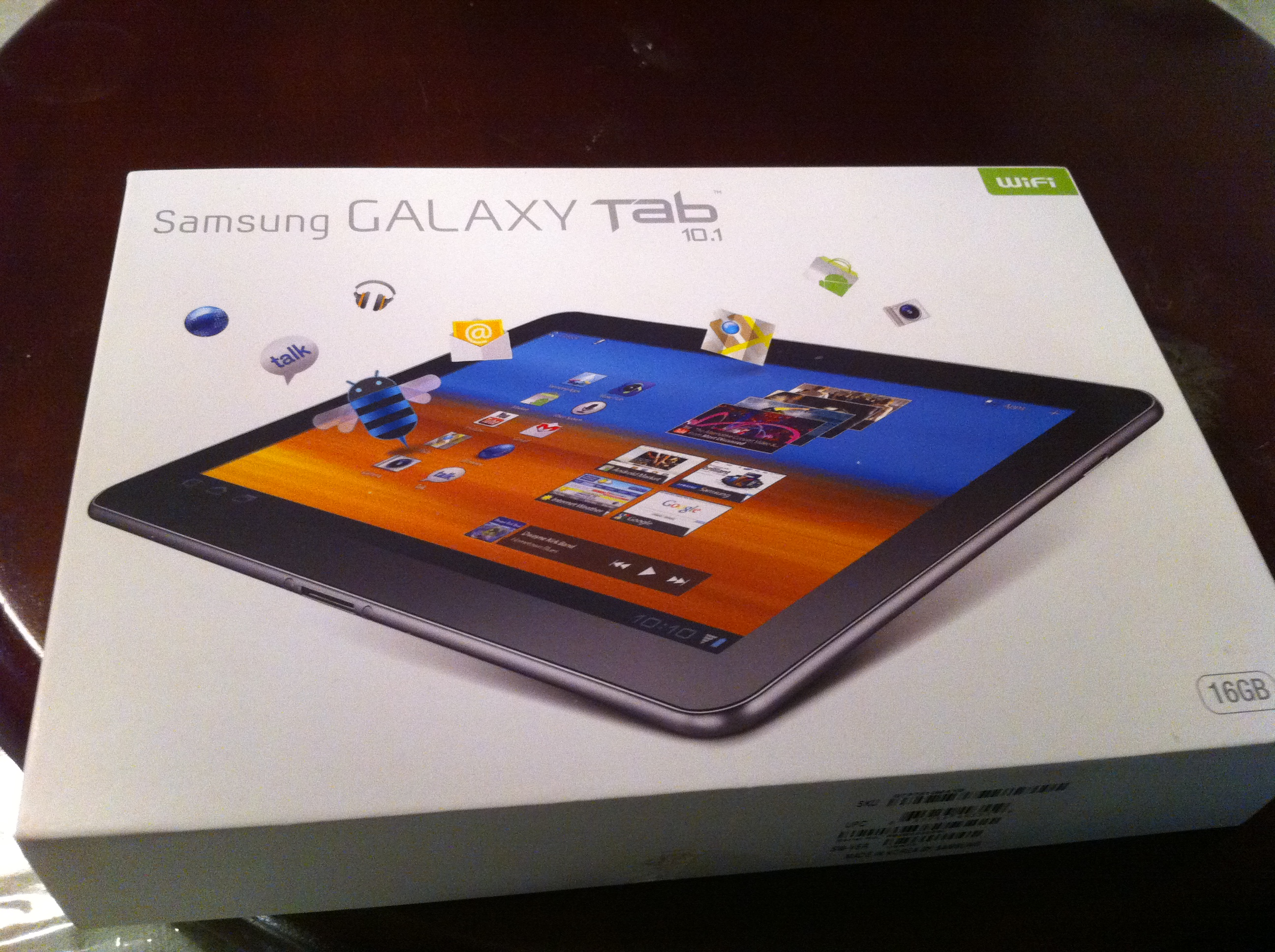 Samsung Galaxy Tab 10.1 TekTok Review