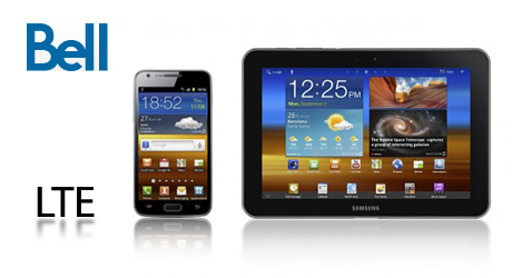 Bell to launch LTE with Samsung Galaxy Tab 8.9 and Galaxy S2 LTE
