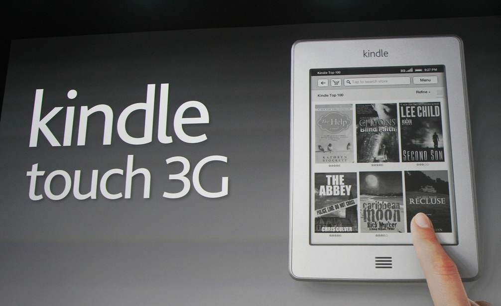 Amazon to ship Kindle Touch 3G a week early