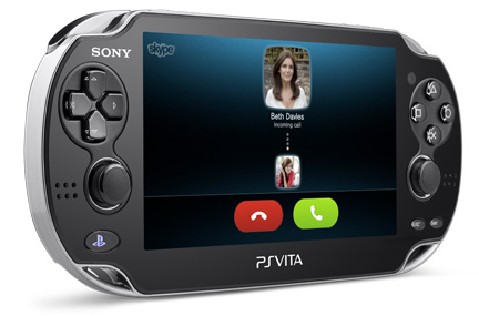 Sony announces Skype for Playstation Vita