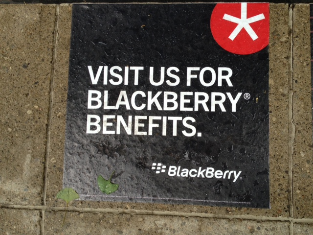 RIM continues to BE BOLD with BlackBerry Scavenger Hunt in Toronto