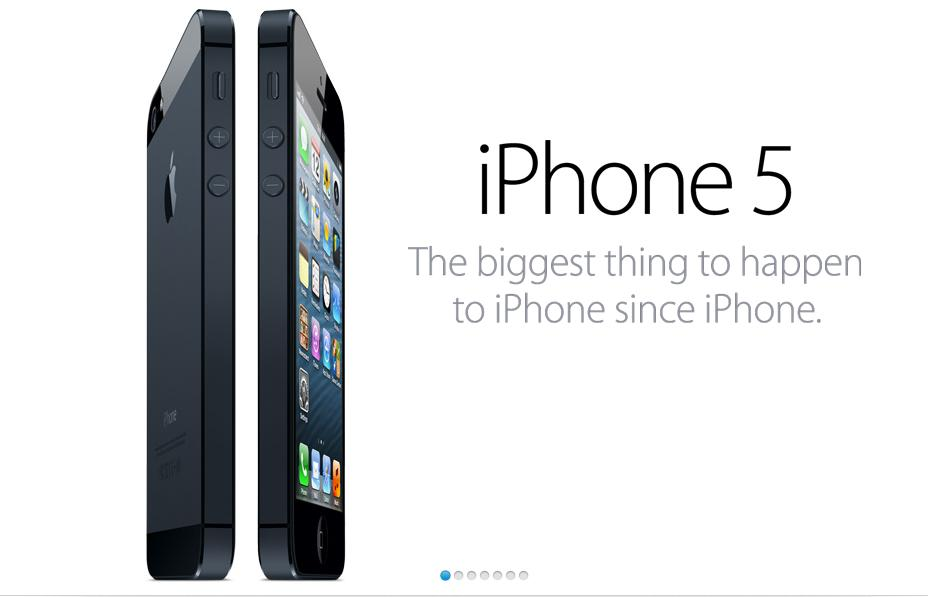 Apple unveils iPhone 5 LTE available in Canada September 21