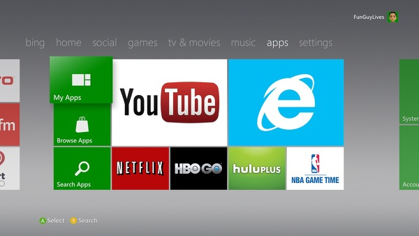 Microsoft begins rolling out new Xbox 360 dashboard update today