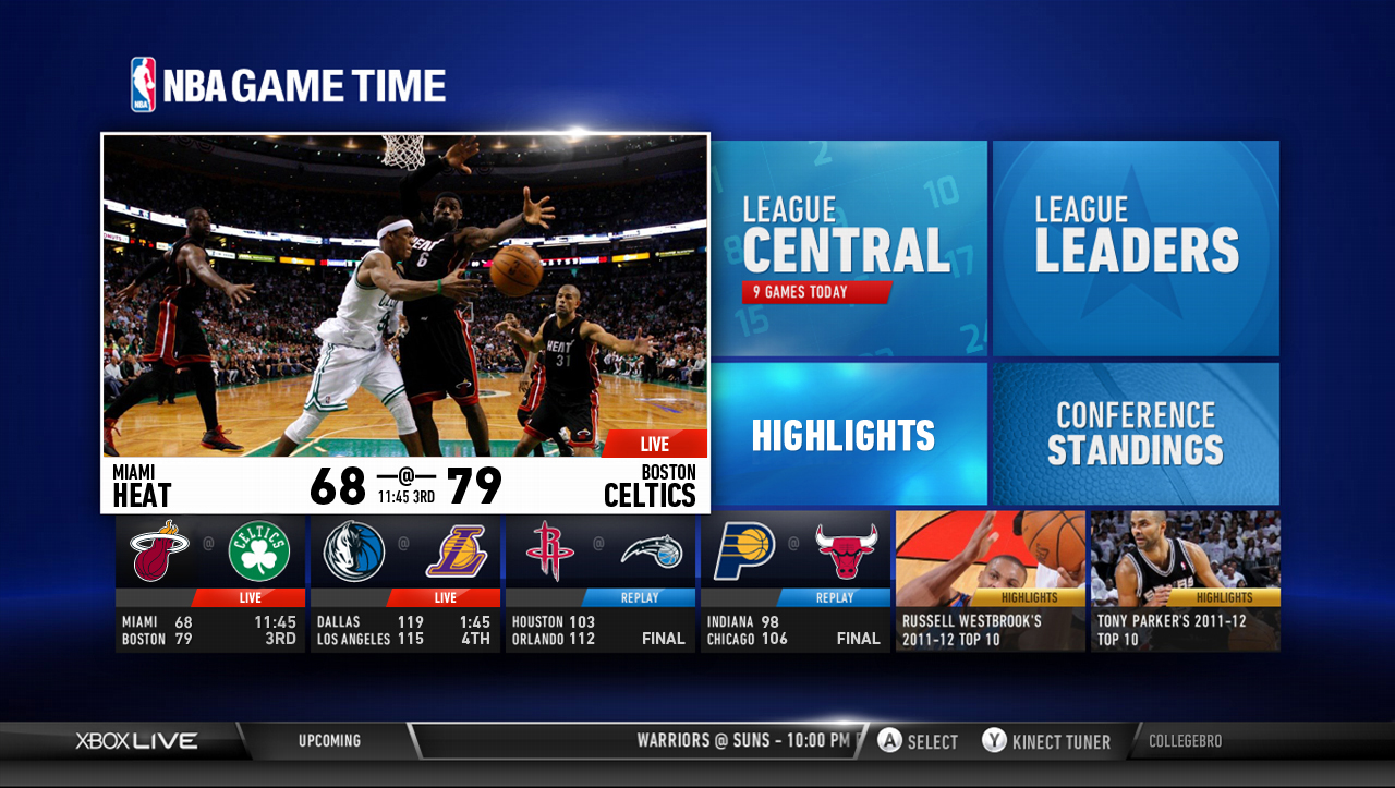 NBA Game Time for Xbox launches in Canada today on Xbox LIVE