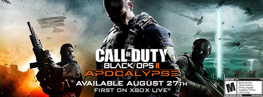 Black Ops 2 Apocalypse DLC Map Pack coming to Xbox August 27