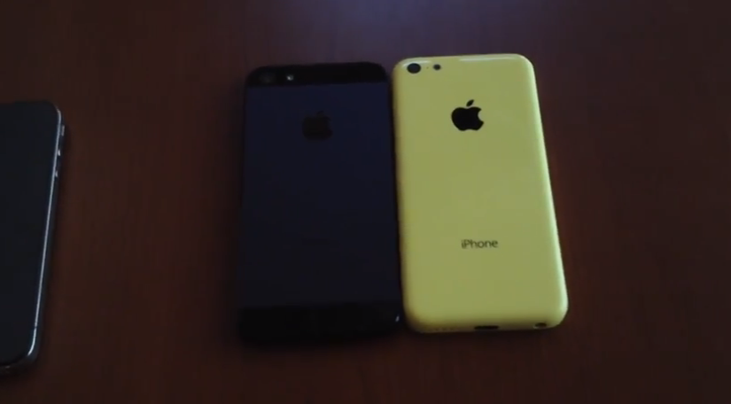 Apple iPhone 5C Shown in Leaked Video