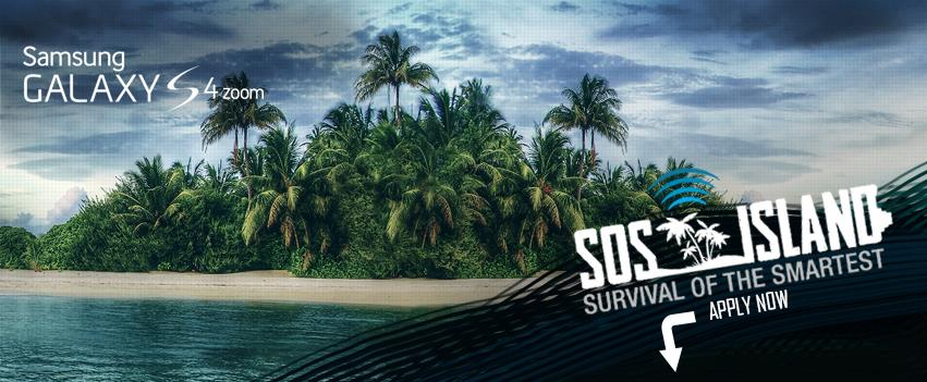 Samsung Looking for 8 Contestants to Survive SOS Island
