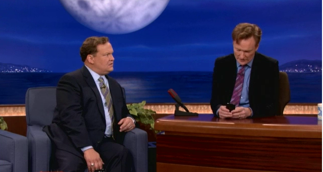 Conan has issues updating his iPhone to iOS 7