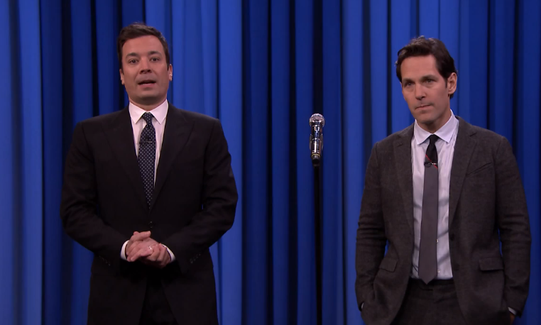 Jimmy Fallon Lip Sync Battle with Paul Rudd