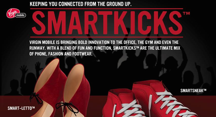 Virgin Mobile announces the latest in wearable fashion with Smartkicks