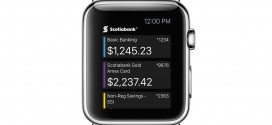 Scotiabank Mobile Banking App to Be Available for Apple Watch