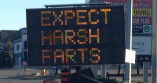expect harsh farts