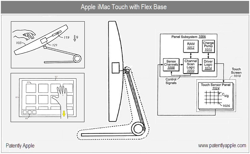 Apple Patents  a Touch Screen Desktop - Tektok.ca