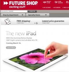 iPad @ Futureshop