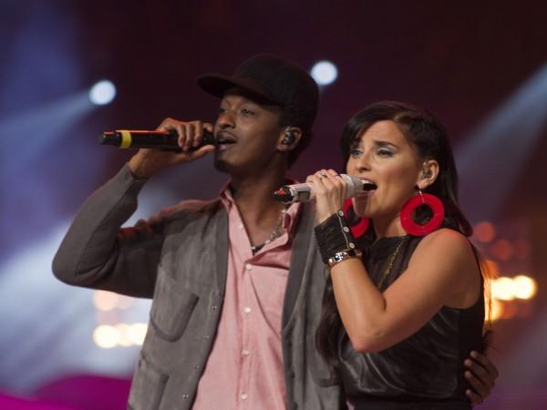 K'naan and Nelly Furtado - Photo Credit Michael Rajzman